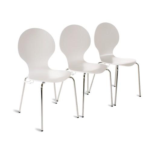 Stuhl MIRO mit Reihenverbinder